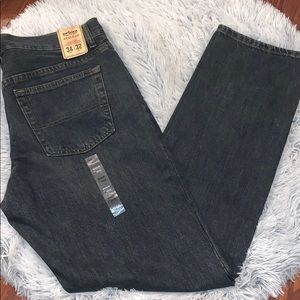 Dirty Denim  relaxed fit jeans